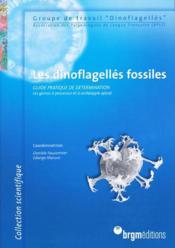 Les Dinoflagelles Fossiles - Couverture - Format classique