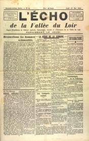 Echo De La Vallee Du Loir (L') N°56 du 13/05/1948 - Couverture - Format classique
