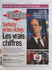 Liberation N°9585 du 06/03/2012 - Couverture - Format classique
