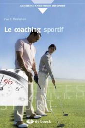 Le coaching sportif - Couverture - Format classique