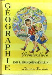 Geographie. Premier Livre - Couverture - Format classique