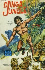 Dinga Jungle N°31. Les Gnomes Des Falaises / Une Mission Tres Speciale / Le Serpent D'Or. - Couverture - Format classique