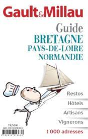 Guide grand Ouest ; Bretagne, Pays de la Loire, Normandie, Poitou-Charentes - Couverture - Format classique