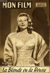 Mon Film N° 620 - La Blonde Ou La Rousse - Couverture - Format classique