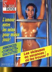 CINE REVUE - SPECIAL PHOTOS - 64E ANNEE - N° 23 - L'amour entre les seins pour mieux jouir. - Couverture - Format classique