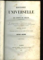 Histoire Universelle - Tome 1 - Couverture - Format classique