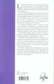 Jeux Et Enjeux De Langage Dans L'Elaboration Des Savoirs En Classe - 4ème de couverture - Format classique
