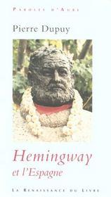 Hemingway et l'Espagne - Intérieur - Format classique