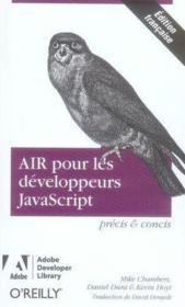 Air pour les developpeurs javascript precis et concis - Couverture - Format classique