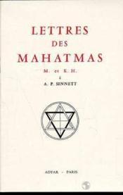 Lettres Des Mahatmas - Couverture - Format classique