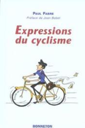 Expressions du cyclisme - Couverture - Format classique