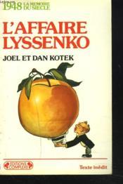 1948 L'Affaire Lyssenko - Couverture - Format classique