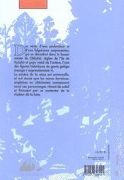 Paradis - 4ème de couverture - Format classique