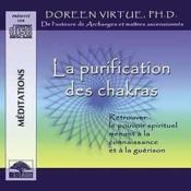 Purification Des Chakras - Livre Audio - Couverture - Format classique
