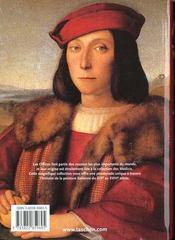 Ko-La Peinture Italienne Les Offices Florence - 4ème de couverture - Format classique