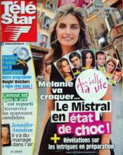 Tele Star N°1841 du 09/01/2012 - Couverture - Format classique