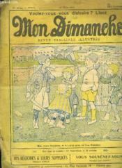 Voulez Vous Vous Distraire Mon Dimanche N° 590 Du 22 Mars 1914. - Couverture - Format classique