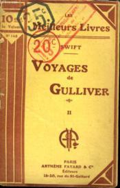 Voyages De Gulliver. Tome 2. Collection : Les Meilleurs Livres N° 142. - Couverture - Format classique