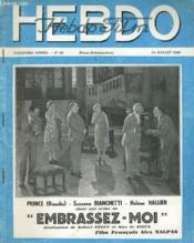 Hebdo Film - 13eme Annee - N°29 - Couverture - Format classique