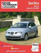 Rta 660.1 Seat Ibiza Diesel - Couverture - Format classique