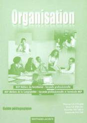 Organisation Seconde Bep Ms/mc - Couverture - Format classique