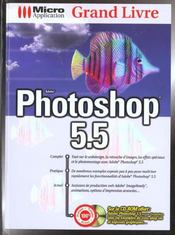 Grand livre photoshop 5.5 - Intérieur - Format classique