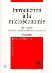 Introduction A La Microeconomie (Traduction De La 5e Edition Americaine) - Couverture - Format classique