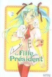 La fille du président t.2 - Intérieur - Format classique
