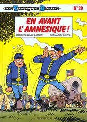 Les tuniques bleues t.29 ; en avant l'amnésique - Intérieur - Format classique