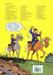 Les tuniques bleues t.29 ; en avant l'amnésique - 4ème de couverture - Format classique