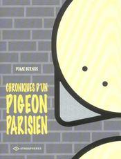 Chroniques d'un pigeon parisien t.1 - Intérieur - Format classique