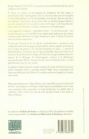 Jacques Meuris ; un poète au miroir de l'art - 4ème de couverture - Format classique