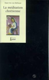 Meditation chretienne - Couverture - Format classique