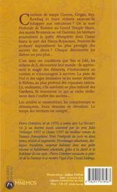 Secret De Ji Volume 2 (Le) - 4ème de couverture - Format classique