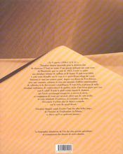Theodore Monod ; Une Vie De Saharien - 4ème de couverture - Format classique
