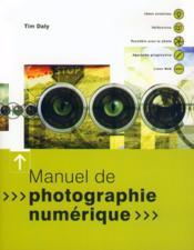 Ev-Manuel Photographie Numerique - Couverture - Format classique