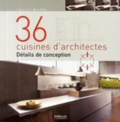 Vente  36 cuisines d'architectes ; détails de conception  - Virginia Mcleod