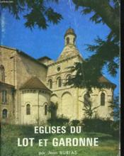 Eglises Du Lot-Et-Garonne - Couverture - Format classique