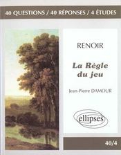Renoir La Regle Du Jeu - Intérieur - Format classique