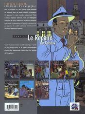 Stephane Clement T.3 ; Le Repaire De Kolstov - 4ème de couverture - Format classique