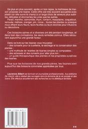 Le Livre Des Tisanes - 4ème de couverture - Format classique
