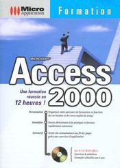 Formation access 2000 - Intérieur - Format classique