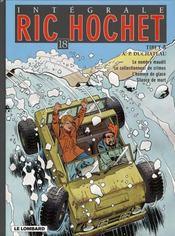 Ric Hochet ; intégrale t.18 - Intérieur - Format classique