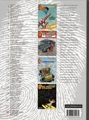 Ric Hochet ; intégrale t.18 - 4ème de couverture - Format classique