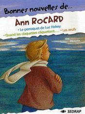 Bonnes Nouvelles De ; Ann Rocard ; Cm1, Cm2 ; Recueil De Nouvelles - Couverture - Format classique
