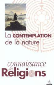 La contemplation de la nature - Couverture - Format classique