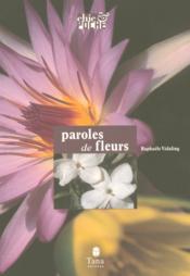 Paroles De Fleurs - Couverture - Format classique