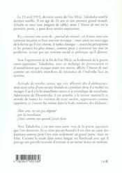 Amour De Moi (L) - 4ème de couverture - Format classique