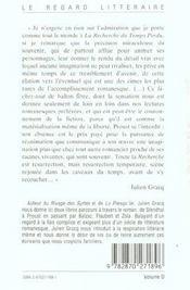 Proust ; Stendhal, Balzac, Flaubert, Zola - 4ème de couverture - Format classique