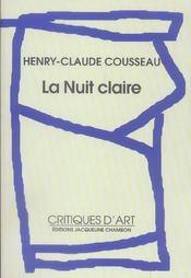 La Nuit Claire - Intérieur - Format classique